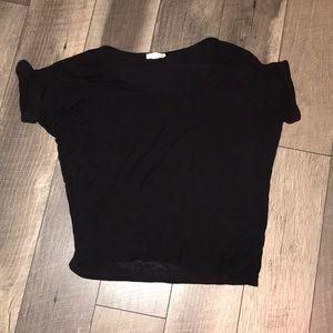 Tops - Plain black t